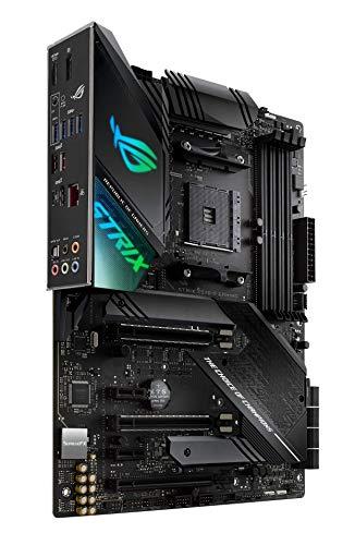 ASUS ROG Strix X570-F Gaming ATX Motherboard with PCIe 4.0, Aura Sync RGB Lighting, Intel Gigabit Ethernet, Dual M.2 with Heatsinks, SATA 6GB/S and USB 3.2 Gen 2