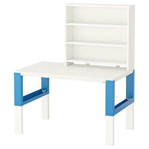 ZigZag Trading Ltd IKEA PAHL - Estantería de escritorio Blanco/azul