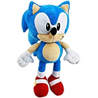Sonic The Hedgehog - SEGA- Peluche Sonic - Medidas 28 cm - Color Azul