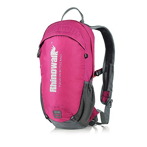 YGMX 12L Outdoor Cycling Backpack Waterproof Hiking Camping Mountaineering Travel Bag,Rose red