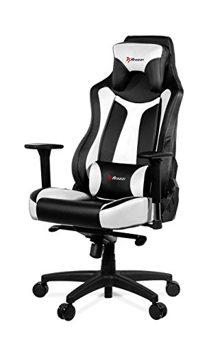 Arozzi Vernazza Series Super Premium Gaming Racing Style Swivel Chair, White Accessories chairs Computer Dining Features gaming Home Kitchen