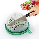 HISSF Salad Cutter Bowl Upgraded Easy Salad Maker, Fast Fruit Vegetable Salad Chopper Bowl Fresh Salad Slicer