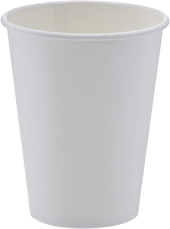 AmazonBasics Compostable PLA Laminated Hot Paper Cup 12 Oz 1 000 Count