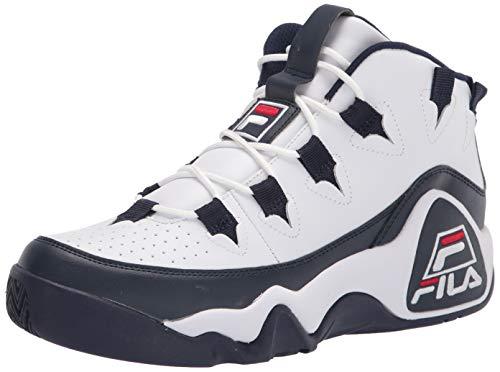 Fila Men's Grant Hill 1 Sneaker, White Navy Red, 9