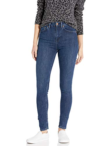 Nudie Jeans Damen Hightop Tilde Blue Tide Jeans, Blaue Gezeiten, 27W x 30L
