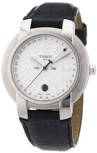 Tissot TXS - Reloj de pulsera hombre, piel, color negro