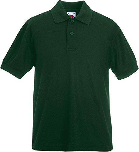 Fruit of the Loom Jungen Blusen T-Shirt grün Dunkelgrün 8 Jahre