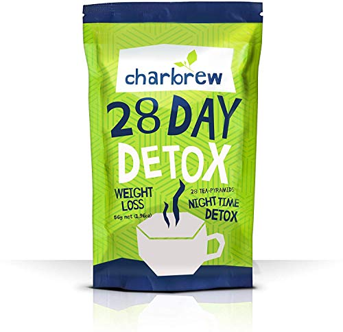 Charbrew Night Time Tea Detox 28 Days (Kein abführender Effekt)