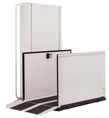 Electropedic Wheelchair Elevator Vertical Platform Home Porch Lift