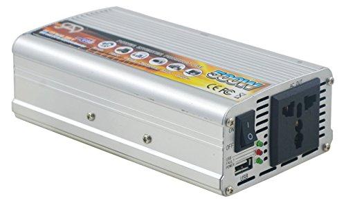 500WATT CAR POWER INVERTER DC 12V TO AC 220V CONVERTER WITH USB Charger