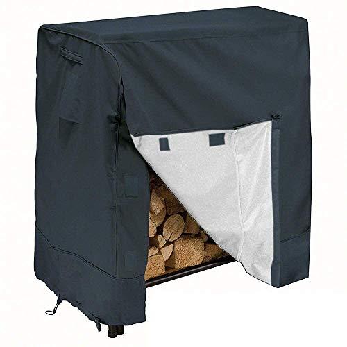 Couverture étagère en bois, Covers meubles de patio, couverture de bois Oxford, la couverture de protection en bois for les jardins en terrasses coupe-vent imperméable, pluie neige poussière au vent,
