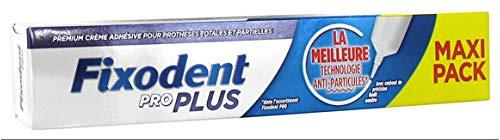 Fixodent pro plus anti-particules crème adhésive premium pour prothèses dentaires 57g