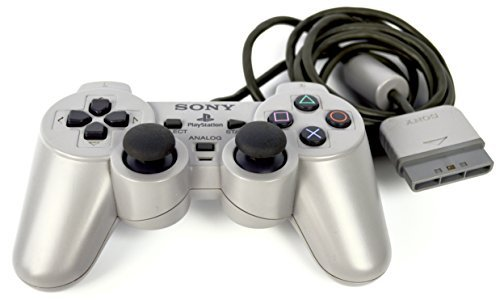 Gris Langsam Dualshock Gaming Controller Official Gamepad für Sony Playstation 1