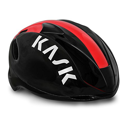 Kask CPSC Infinity Fahrrad Helm, Unisex, schwarz/rot