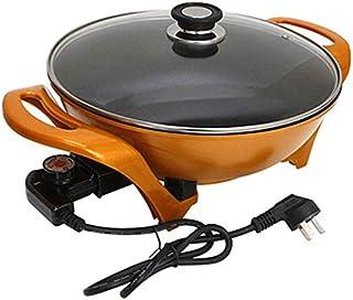 Polyvalent Pot Wok électrique Pot Lingot antiadhésif Pot d'or marmite électrique cuisinière électrique Hot Pot Noodle Pot ...