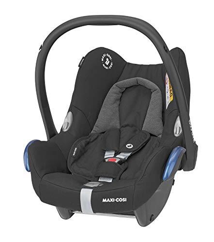 Maxi-Cosi CabrioFix Babyschale, Gruppe 0+, ISOFIX, ab der Geburt, 0-12 Monate, 0-13 kg, Essential Black