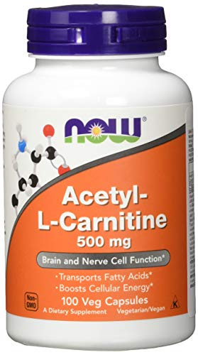 Now Foods Acetyl-L Carnitine 500 mg - 100 Vcaps