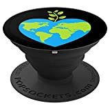 Environmentalist Gifts Earth Planet Love PopSockets Grip and Stand for Phones and Tablets