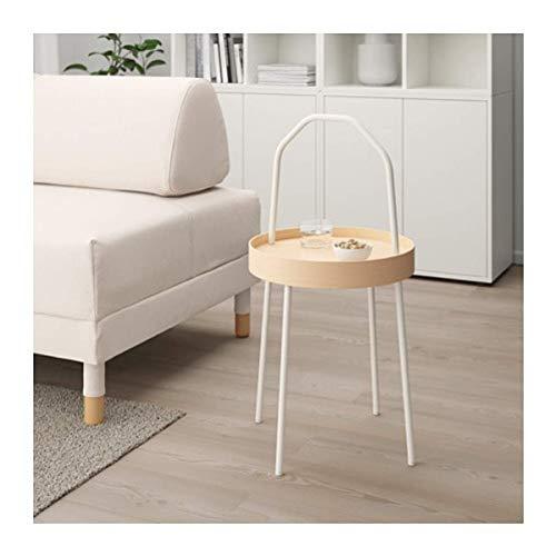 IKEA Burvik stolik pomocniczy biały 603.403.89 rozmiar 38 cm