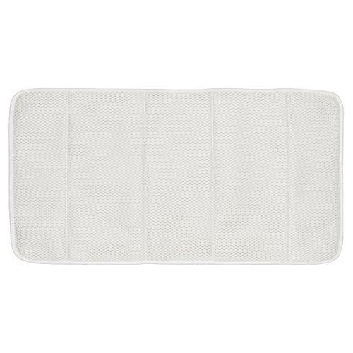 Sealskin 315225410 Komfort-Badewanneneinlage Spa, extra weich und pflegeleicht, Stoff, weiß, 79 x 39 x 2 cm