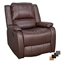 "RecPro Charles Collection 30"" Swivel Glider RV Recliner"