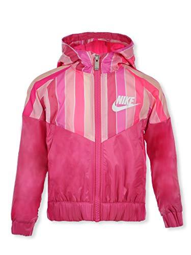 Nike Girls' Hoodie - flamingo, 4