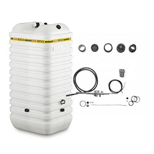 ROTEX Heizöltank variosafe 1 x 1000 Liter Öltank doppelwandig hochwassersicher Komplettset
