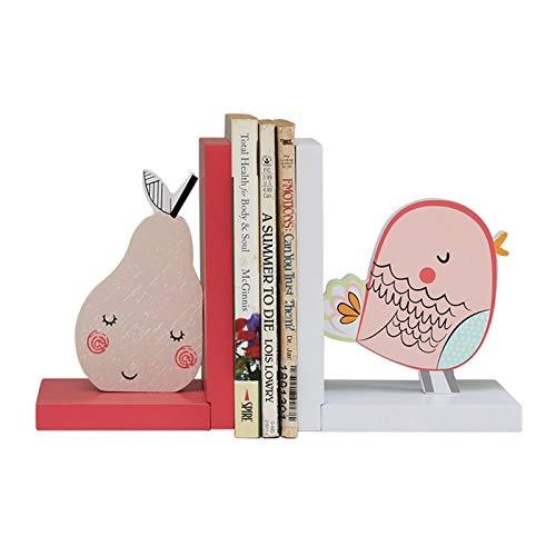 Sujeta Libros Sujetalibros Conjunto de 2 reservas de madera para niños, hechos a mano y extremos de libros pintados a mano, adornos de prendas creativas artesanías para el hogar personalizados Creativ