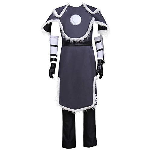 Tanwenling33 Sokka Disfraz de Cosplay de Avatar The Last Airbender Disfraz de Cosplay de Halloween Conjunto Completo para Hombres Adultos