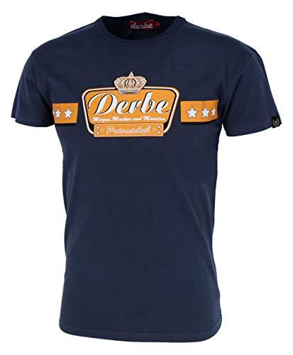 derbe Hamburg Miezen Macker und Moneten Shirt Boys Herren T-Shirt, Größe:S, Hamburg Farben:Navy