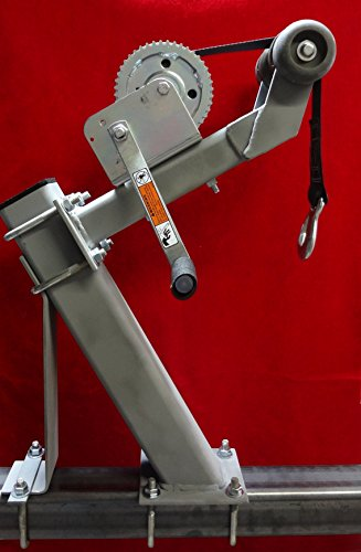Die-matic Heavy Capacity Winch Stand W/1400lb Dutton-Lainson Winch Galvanized
