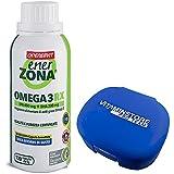 Enerzona Omega 3 RX 120 compresse + Portapillole ● Integratore Alimentare a base di olio di pesce per il Controllo dei Trigliceridi ● ricco di EPA e DHA