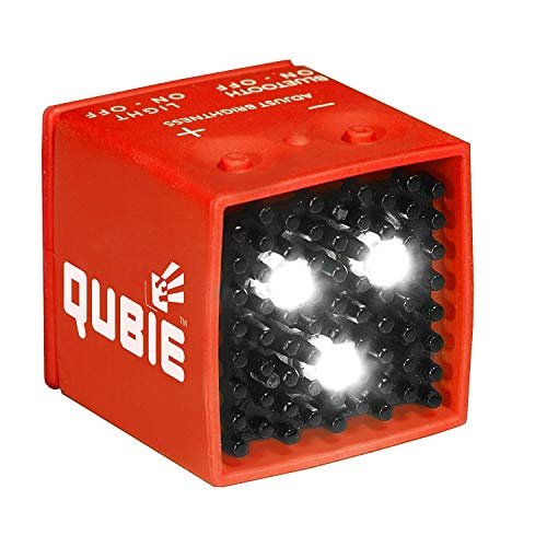 QUBIE Bluetooth LED Light Red for photography and lighting