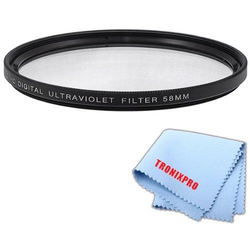 58?mm PROシリーズmulti-coated高解像度デジタル紫外線フィルターfor Canon EF 85?mm f / 1.8?USMレンズ、Canon EF 70???300?mm f / 4???5.6?is USMレンズ、Canon EF -