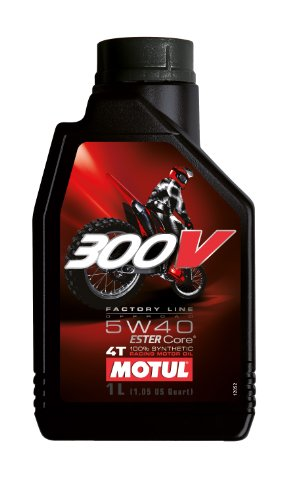 Motul 104134 300V 4T Factory Line Off Road, 5 W-40, 1 L