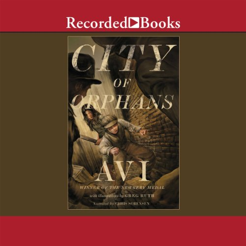 City of Orphans audiobook cover art