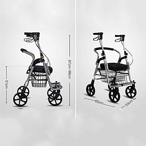 Shopping cart Carrito de Compras para Ancianos, Carrito para Ancianos, Carro de...