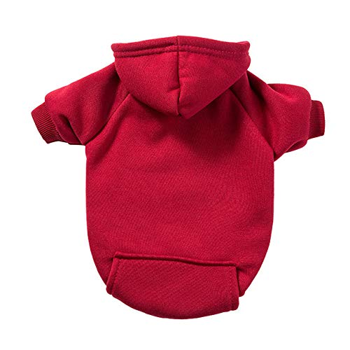 MYYXGS Winter Pet Dog Clothes Dog Coat Hoodie Warm Dog Pet Dog Clothes Hoodie Pet Clothing