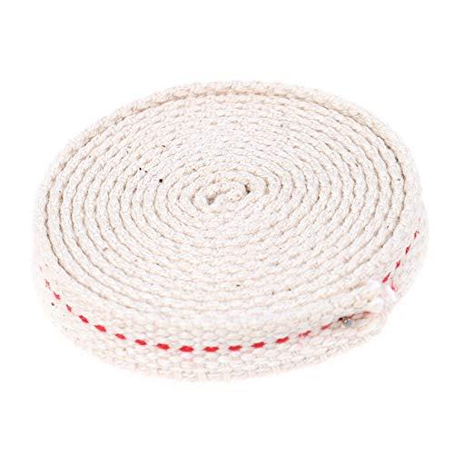 AleXanDer1 Mechas 1.2cm * 1.5m / una Mecha Plana de algodón Utilizada para Hacer Que la lámpara de Aceite de la Linterna de la Linterna de la Estufa de keroseno