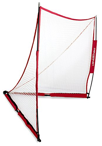 PowerNet Portable Lacrosse Goal | 6 Foot by 6 Foot | Quick and Easy...