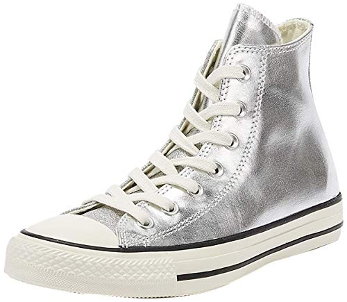 Converse All Star Hi Damen Sneaker Silver