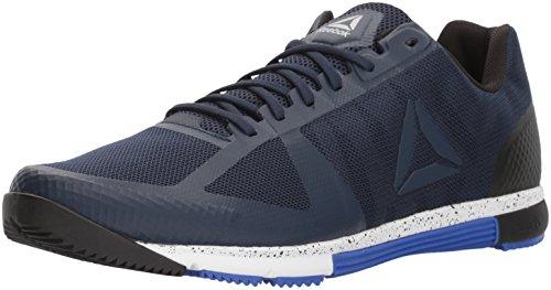 Reebok Men's Speed TR 2.0 Sneaker, coll. Navy/Acid Blue/Black/White, 14 M US