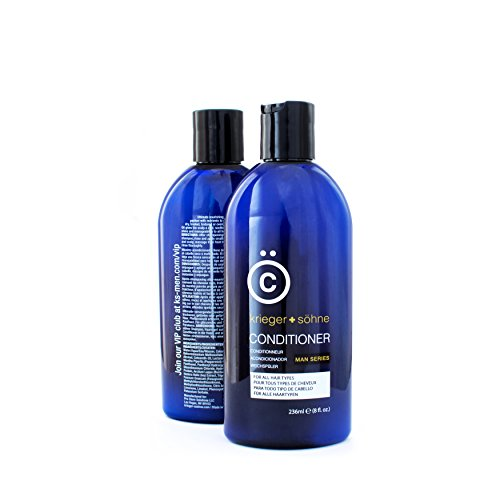 K + S Men's Hair Conditioner - Stylist-Level Hair Care Products for Men - Infused with...