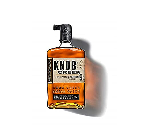 4. Knob Creek Straight– Whisky bourbon Small Batch de 700 ml