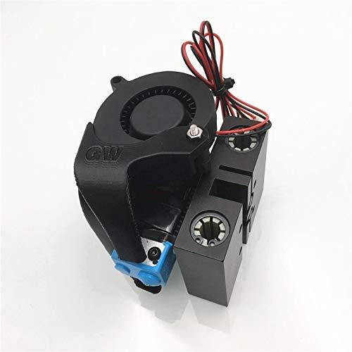 1 Juego de Kit de extrusora Adecuado para Anet A8 Prusa i3 3D Printer X Carriage con V6 Bowden hotend Upgrade 12 / 24V All Metal X Axis Carriage Kit de extrusora Bowden Accesorios de impresión 3D