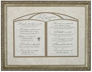 Best 10 commandments of marriage framed art Reviews