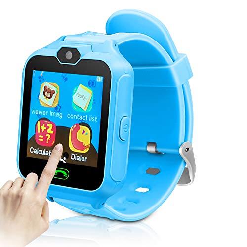 YIHOO Kids Smart Phone Watch for Girls Boys Children 2 Way Call 1.4''...
