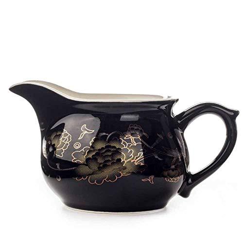 Zoo-Yilchu Tetera, Taza de la Tetera del Juego de té Golden Dragon Tetera Drankware Justicia Copa Tetera Teaware Kung Fu Chino Taza de té de la Caldera. (Color : 02)