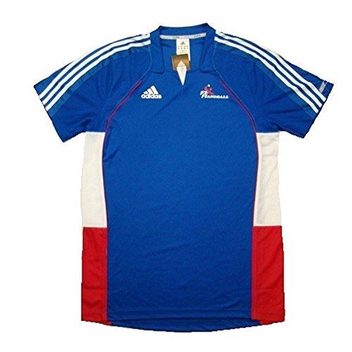 Adidas Frankreich Trikot Maillot France 2010 Federation Handball Shirt , Größe:XXS