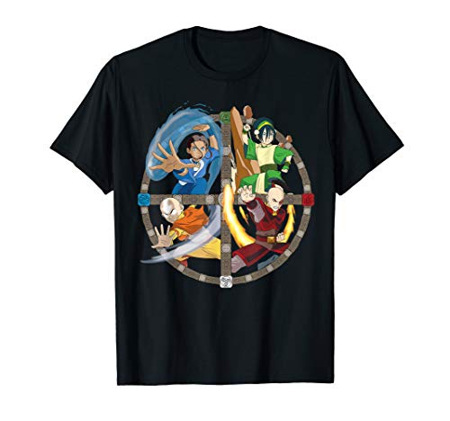 Avatar: The Last Airbender All Characters T-Shirt